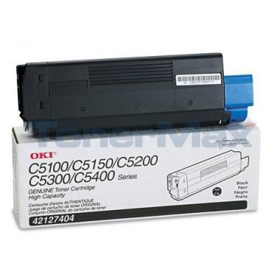 OKIDATA C5100N C5300N TONER BLACK 5K